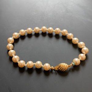 Vintage Marvella Pearl Bracelet